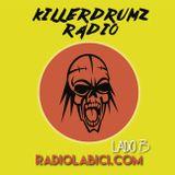 Killerdrumz Radio 02 - 08 - 2016 en Radio Labici