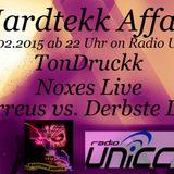 Ferreus vs. Derbste Live @ Hardtekk Affairs on Radio UNiCC 27.02.15