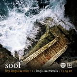 SOOF live impulse mix. set one. 12 september 2018 | whcr 90.3fm | traklife.com