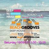 SO&SO Deep Nu House RadioShow - BEACHGROOVES.COM RADIO 19/09/15 11.00-12.00pm
