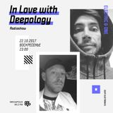 In Love with Deepology @ Megapolis 89,5 FM Moscow (22.10.2017)