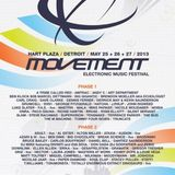 Slam @ Movement Festival Detroit - Hart Plaza Day 1 (25-05-2013)