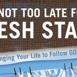 It's not too late for a fresh start - Audio