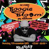 Boogie Bloom meets Jey Indahouse Ed.05 (DJ & Percussion live set) @ Malanga café Ibiza, 9 nov. 2017