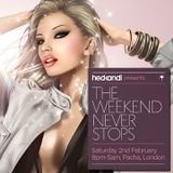 Carl Hanaghan presents Hed Kandi @ Pacha February 2013 Promo Mix