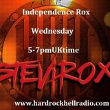 Independence Rox HardRockHellRadio 22nd Feb NEW BlackMamba Cadence Noir + Regulus Silverstar Haze