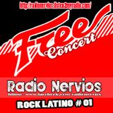 RADIO NERVIOS - ROCK LATINO #001