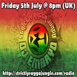 DJ Embryo - Strictly Ragga Jungle Radio Live 10