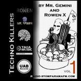 Techno Killers by Mr Gemini and Rowen X-vol1