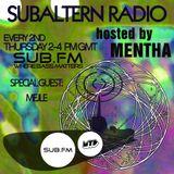 Mentha b2b Mejle - Subaltern Radio 21/08/14 on SUB FM