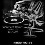 No Boundaries Show #2 Lifefm - DJ Makah & MC CartE