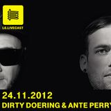 24.11.12 One Night with Ante Perry, Dirty Doering, Henning Weik & Alexander Aurel II