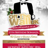 MISS CHIN PRESENTS OFF THE WALL BOXING DAY 2016 FEATURING STUDIO EXPRESS 625,AFTER DARK UK, 5TH AVE
