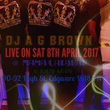 DJ A G BROWN INDA MIX JAZZ/OLDSKOOL/RNB/AFROBEATS