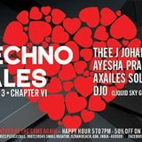 Thee J Johanz - DJ Set Techno Tales 8-1-16 Chronicle Vagator GOA INDIA (last half hour missing)