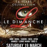 dj Stijn @ Bocca - 16Y Le Dimanche 19-03-2016