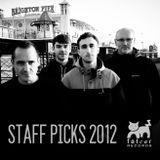Staff Picks 2012 - FatCat Records Podcast #77
