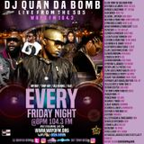 DJ Quan Da Bomb in the mix on live from the 585 WAYO 104.3 FM pt.3