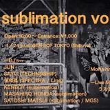 JUN @ EN-SOF Tokyo, 24 Jan 2016 sublimation, Live Recording