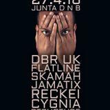 JUNTA DNB feat DBR UK and Junta DJ's