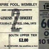 Wembley Empire Pool Arena-April 15th 1975 - Lamb in London