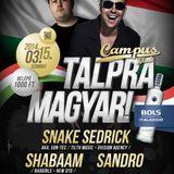 Snake Sedrick aka. Son-Tec - Live @ Campus klub Talpra magyar (15.03.2014.)