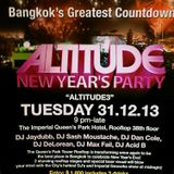 Altitude Party, NYE 2013 @ The Imperial Queen's Park Hotel (BKK)
