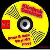 Kiirdneh Selektah Vinyl Drum & Bass Session
