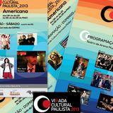 Setlist Felipe Cordeiro Virada Cultural Paulista 2013