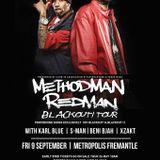 METHOD MAN & REDMAN TOUR MIX - DJ Karl Blue