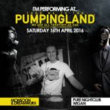 Pete Monsoon - Pumpingland @ Pure, Wigan (Classics set) (16th April 2016)