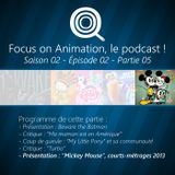 Focus on Animation, le podcast - S02E02 - 05 Court-metrage Mickey Mouse