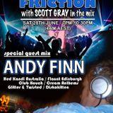 Scott Gray & Andy Finn, Floor Friction on Radio Saltire, June 2014