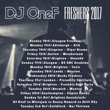 @DJOneF Freshers 2017 - Twitter @DJOneF -  Facebook.com/DJOneFPage - Insta DJONEF