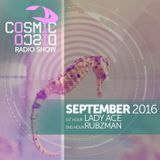 COSMIC DISCO RADIOSHOW - SEPTEMBER 2016