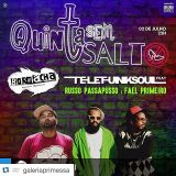 Mauro Telefunksoul ft Russo Passapusso x Fael Primeiro ao vivo na #quintasemsalto @Aborracharia