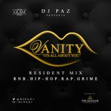 DJ PAZ PRESENTS: VANITY @ GLAM PROMO MIX CD