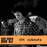#014 - Subnote - Deep Garage/Dubstep