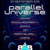 CP Cedric Piret @ Blue Buddha (Knokke) - Parallel Universe - 20-09-2015