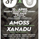 Andee J and MC Flux live from 100th Monkey x Sessions Faction 10/4/15