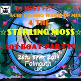 djmf1 DJ Miss Fit~Hard Acid Techno Warm Up 100% Pure Vinyl Mix For The Sterling Moss~303 Techno Boat