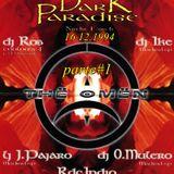 Oscar Mulero,Yke & Dj Rob - Live @ Fiesta DARK PARADISE - The Omen, Madrid (16.12.1994) parte#1