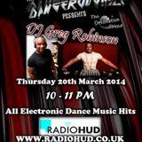 The Detonation Hour - DangerousNile & DJ Greg Robinson 20.03.14 Radio Hud Uhrs