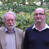 Paul Collier and Andy Sumner in discussion on the IDS paper, 'The New Bottom Billion'.