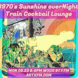 Night Train Cocktail Lounge. 09.23.19: Sunshine overNight Train Cocktail Lounge.