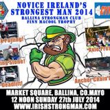 The Novice All Ireland Strongman Competition THE GYM Ballina