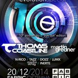 Inerte - Evolution, 10th Anniversary (2014), promo set