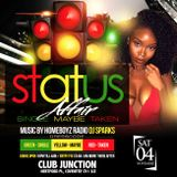 #StatusAffair Saturday 4th November @ Club Junction Coventry