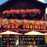 Special Set NuDisco-House-Techno-Closing party-Robinson Bar-Winter 17/18