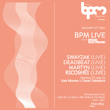 Martyn (live) @ BPM Live - BPM Festival 2015 12-01-15